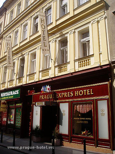Pictures and photos of hotel Expres in Prague